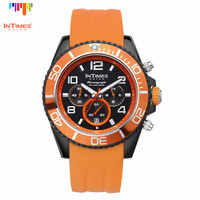 InTimes Luxury Watch 100M Water Proof Miyota OS20 Chronograph vogue watch Retail Wholesale OEM