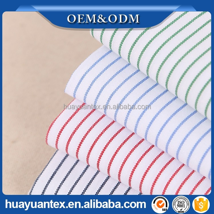Yarn dyed combed oxford fabric for shirts