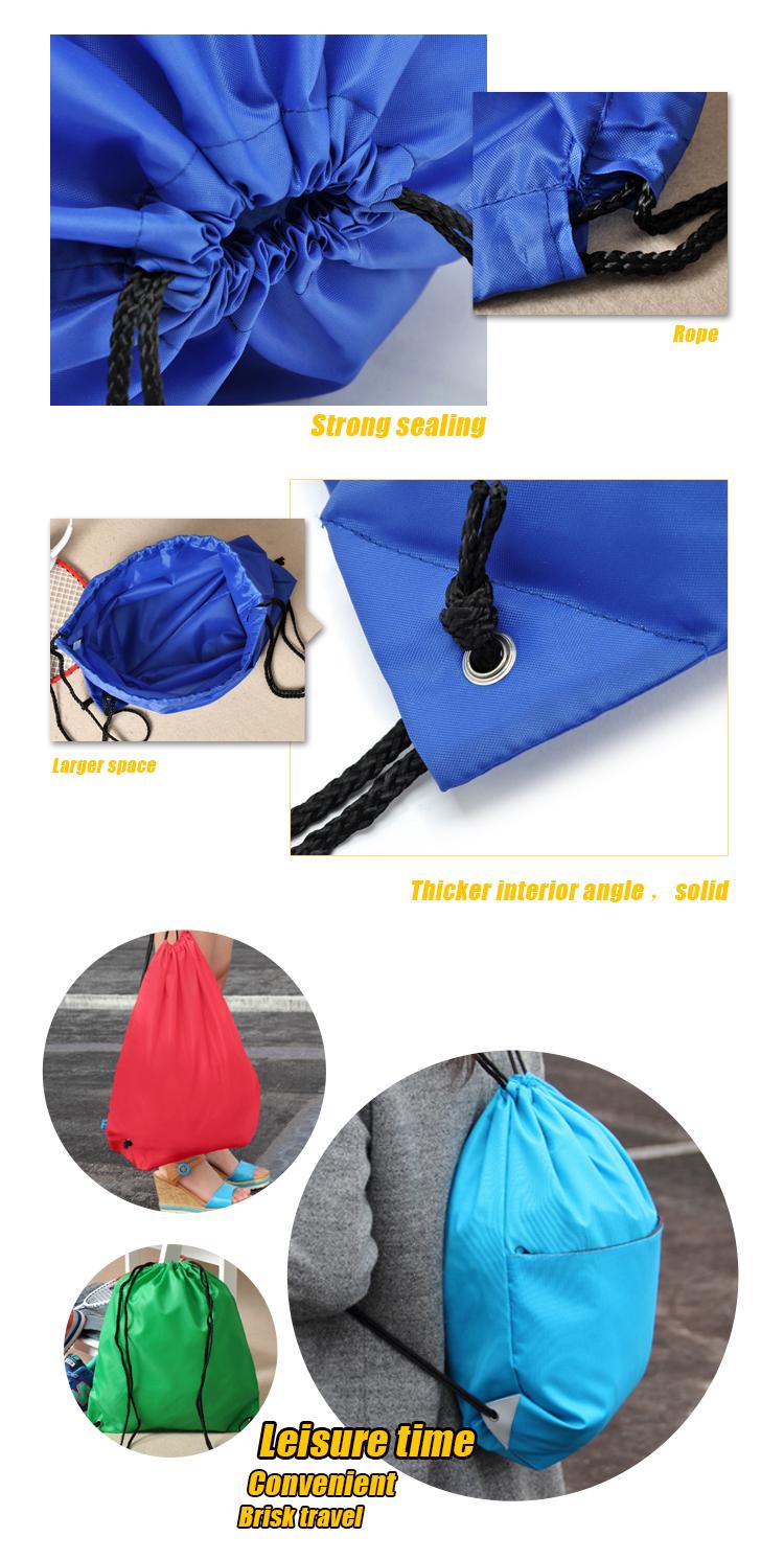 Blank Shark Draw String Gym Bag Buy Drawstring Bagsgym