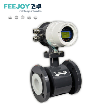FM1015 Feejoy digital milk sea sewage refrigerant electromagnetic flow meter hot water flow meter sensor transmitter