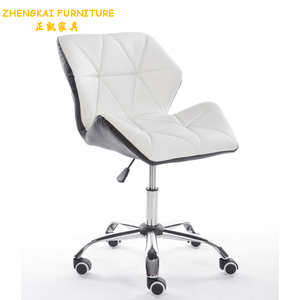 Huzhou Furniture factory directly leisure chair of modern style, cafe chair,office computer chair in white color