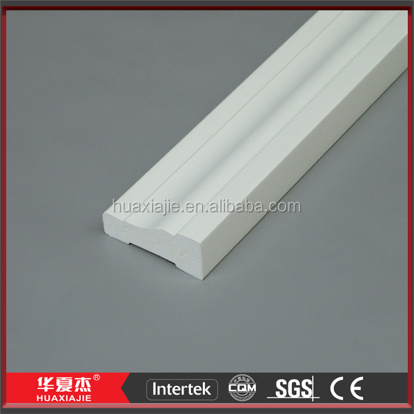 PVC Decorative Crown Moulding And Plastic Base Boards