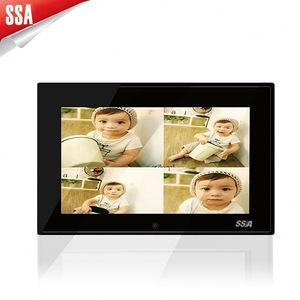 Widely used 7 inch video player portable photo viewer with motion sensor