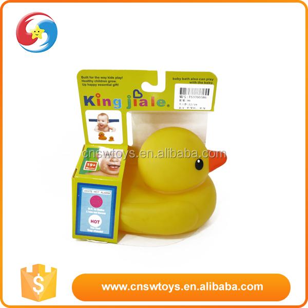 B b canard jouet flottante baignoire en plastique non - Produit bebe non toxique ...