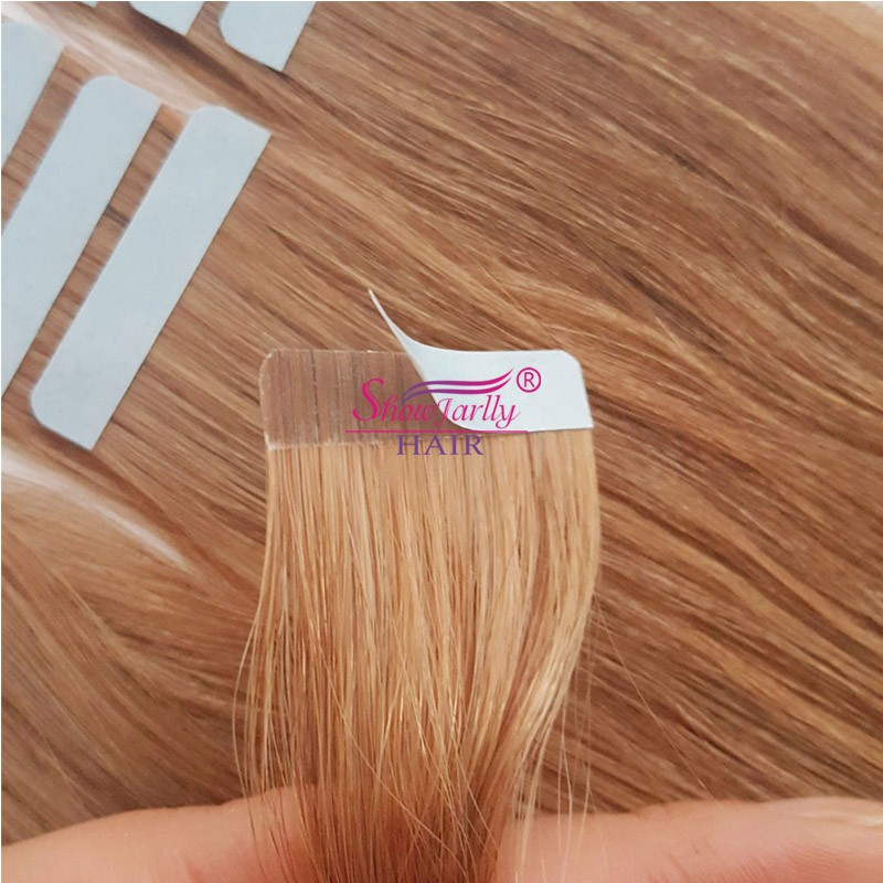 Cheap Russian Remy Human Hair Blonde Sticker Extensions Wholesale