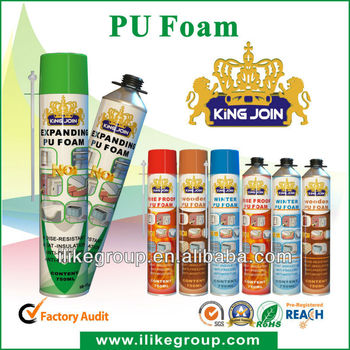Pu foam spray espuma de poliuretano en aerosol tuv sgs - Poliuretano en spray ...