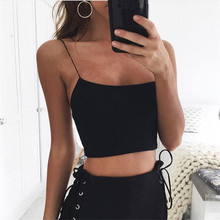 B31198A 2018 Factory wholesale newest fashion lady's tight crop tops