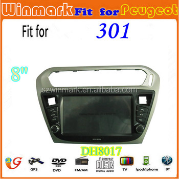 Winmark France Gps Navi Radio Dvd Car Radio For Peugeot 301 Dh8017 ...