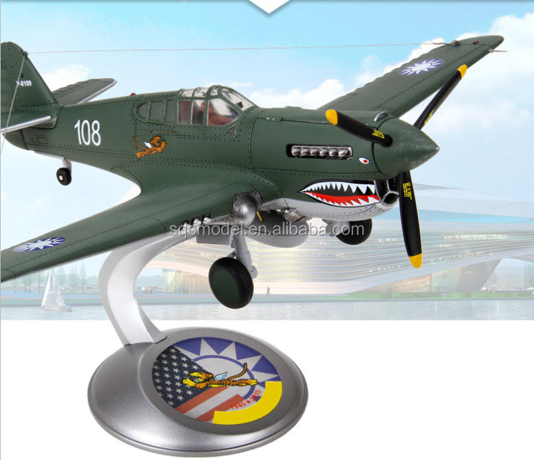 1:32 scale souvenir edition P-40 Flying Tigers fighter Airplane model