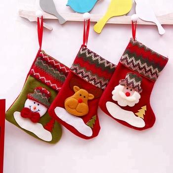 Traditional Hanging Decoration Gifts Fuzzy Christmas Bulk Stockings Socks Buy Bulk Christmas Stockings Socks Christmas Fuzzy Christmas Socks Product