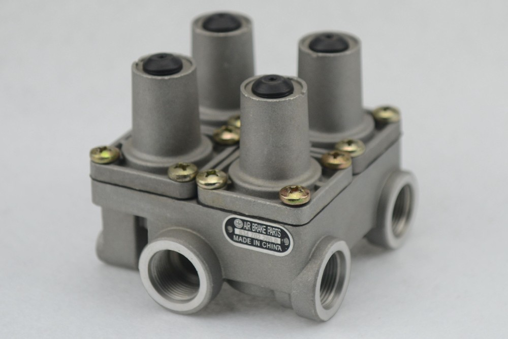 factory manufacturer heavy duty four circuit protection Valve daf volvo truck parts