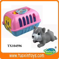 plastic toy cage, plastic play house, plastic mini house toy