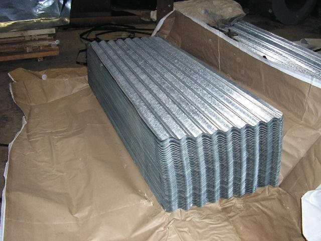 Galvanized Corrugated Sheet Metal Roofing Sizes For Walls