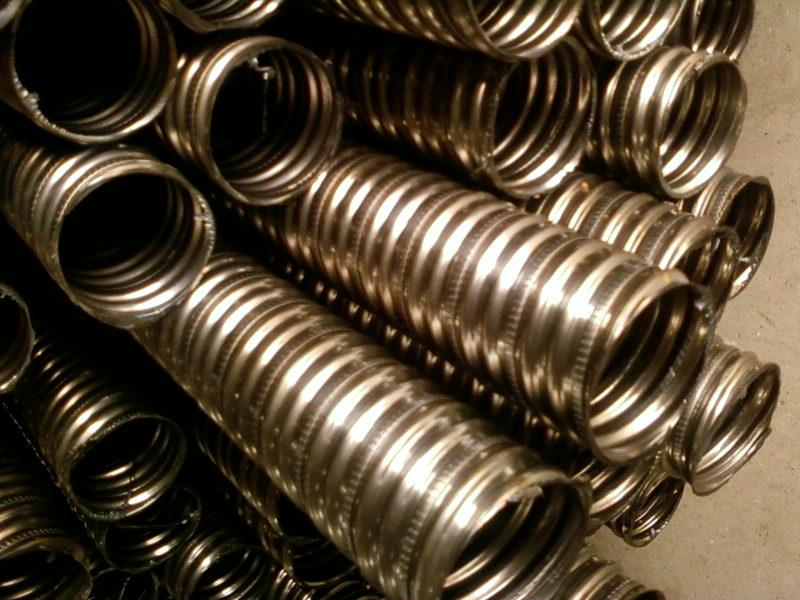 Factory price 0.3mm thickness corrugated ducting for post tensioning