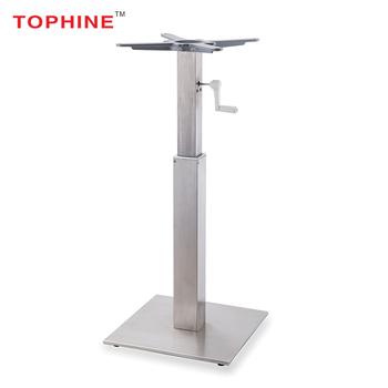 TOPHINE Hand Crank Adjustable Table Base /Motorized Adjustable Height Table  Legs