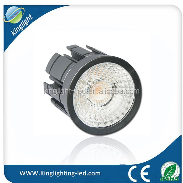 High CRI high efficiency special reflector even lighting cord forging body 791lm 9W powerful led spotlight