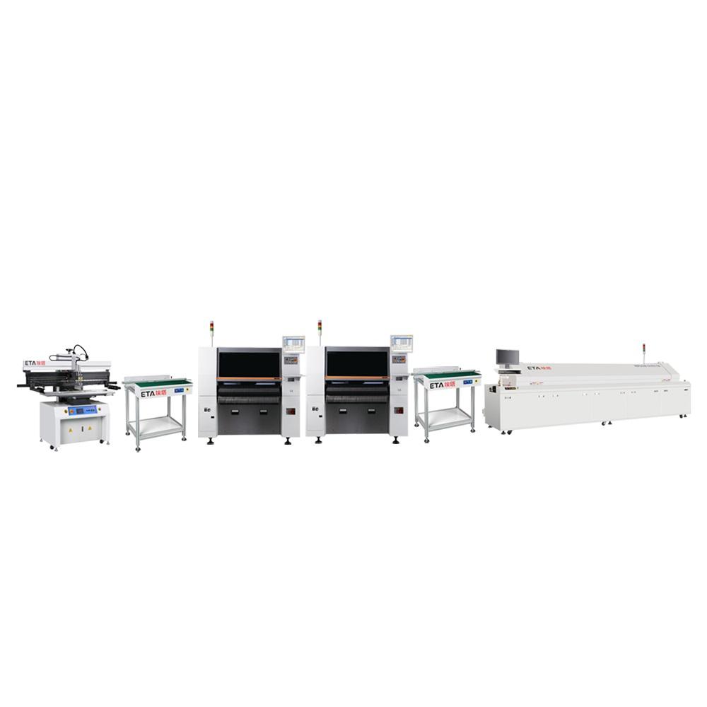 ETA Supply Turnkey SMT Full Machinery Solution for Making PCB Telecommunication Equipment Cards