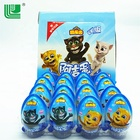 China hot sale healthy snack foods surprise chocolate egg with toy