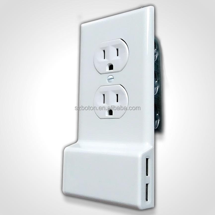 USA Standard 3.0A USB steckdose Duplex usb-ladegerät receptacle ...