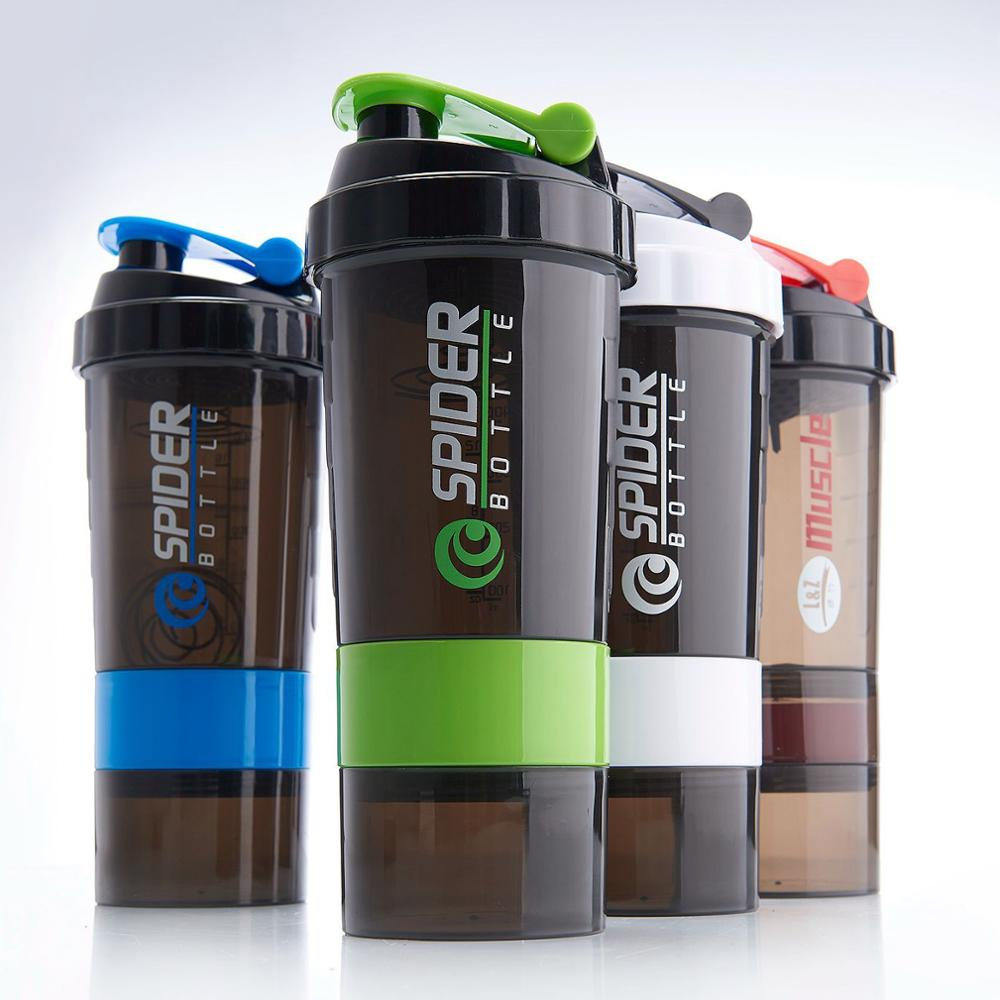 500 ml Gratis BPA custom LOGO private label GYM shakers fles sport Eiwit fles eiwit drinkwater shaker fles