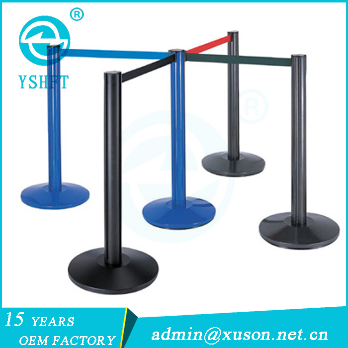 high quality popular metal queue up stand barrier manufacturers