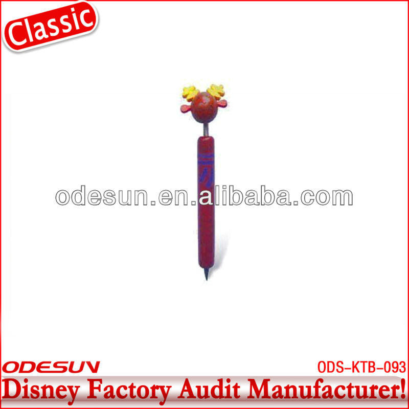 Disney factory audit manufacturer's wooden pen 143391