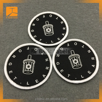 Embroidery sew on Patches Woven Badges