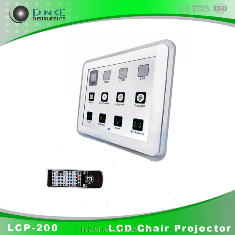 Instrumento oftálmico LCP-200 full hd 3d led proyector digital