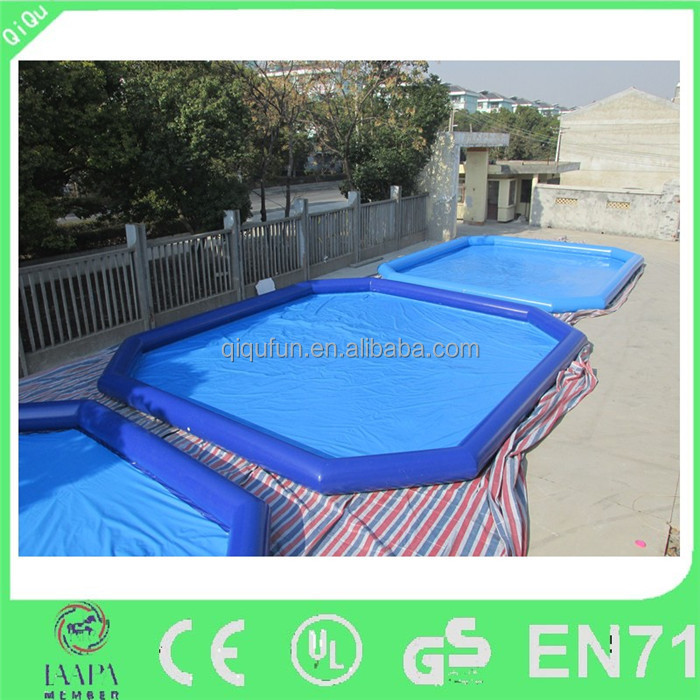 2015 Newest popular family amusement inflatable pool for adults