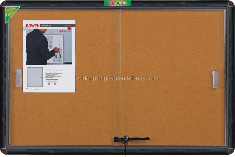 pin board for office. guangdong factory office wall glass key cabinets lockable pin boardnotice boardwhiteboard cabinet board for