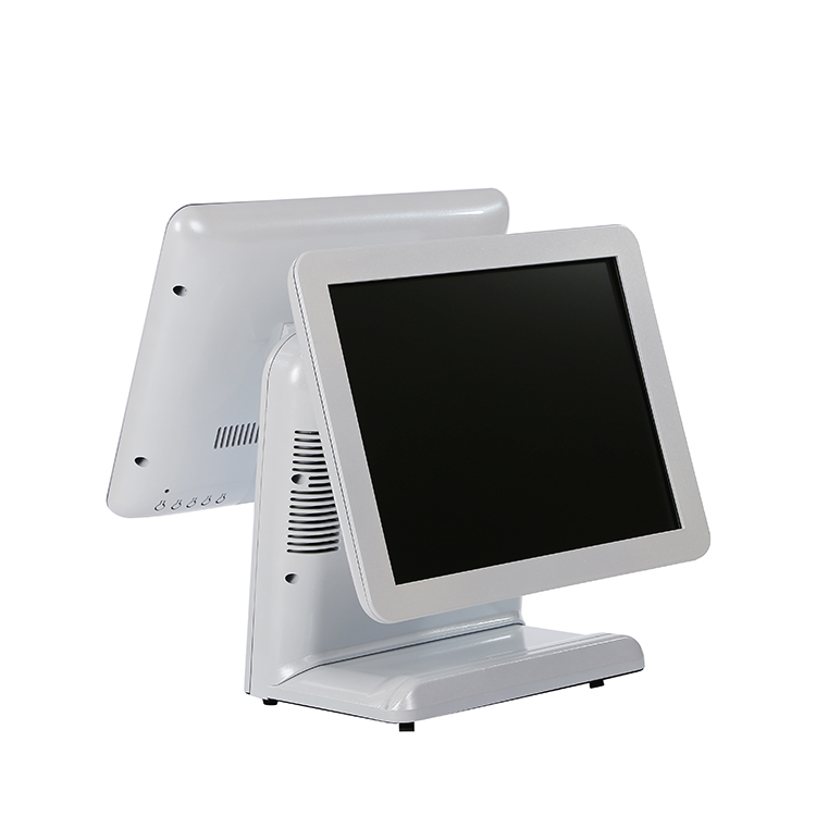 Best quality dual-display VGA I/O windows 10 pos system