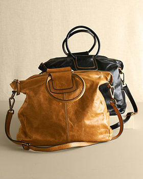 Genuine Leather Sheila Convertible Bag/hobo Bag - Buy Lelather ...
