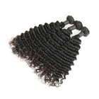 Grade 8a Brazilian Deep Wave Hair,One Donor Natural Color Wholesale Virgin Brazilian Hair