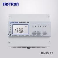 SDM530CT-MT 3 Phase Multi-tariff Energy Meter, Double Tariff Meter, DIN Rail CT operated energy meter