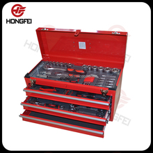 Hot selling 3 drawer 20 inch US general tool box parts with locks