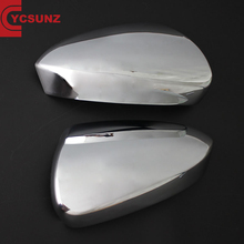 YCSUNZ 2018 Rush new ABS Plastic Door mirror cover Chrome for Rush 2017 car accessories