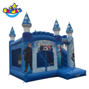 inflatable frozen bouncy jumping castle/frozen bounce house/Frozen Banner Bounce