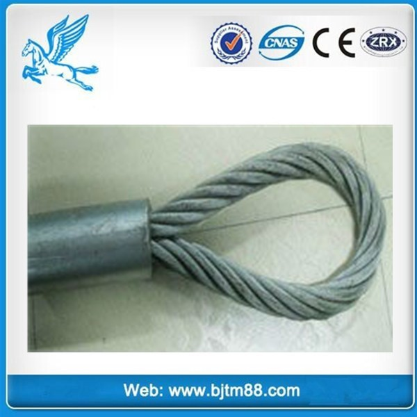 China manufacturer good quality steel wire rope swage machine