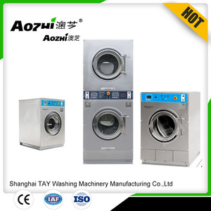 self service coin operated washing machine and dryer for launromat