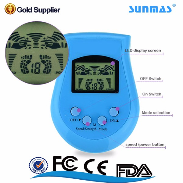 Sunmas USB cable connection electronic acupuncture stimulator