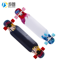 Four-Wheel Street OEM Sport Longboard Wooden Skateboard For Adults