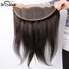 Transparent Natural Raw Malaysian Hair Lace Frontal & Closure With Soft Hand Feeling