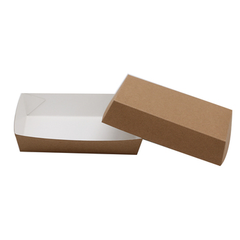 FSC Wholesale high quality chinese products custom biodegradable hot dog box fast food box take away food box