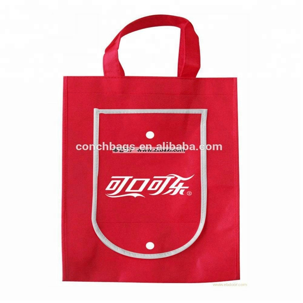 Custom Foldable Eco Shopping Folding Non woven Bag