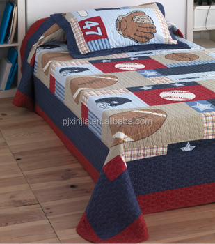 Sport Quilt Fur Jungen Manner Quilts Mikrofaser Bettwasche Set Buy