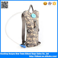 Customized 2L military Camping Hiking Climbing Military camouflage hydration backpack pack