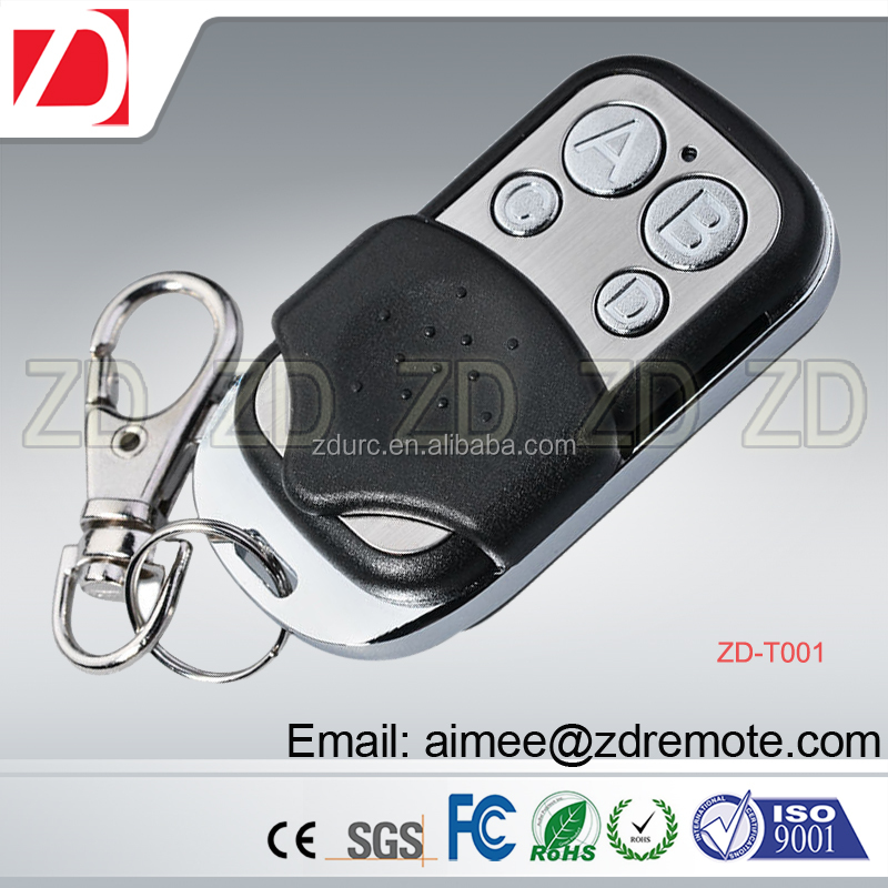 433 92/433/434mhz Fixed Frequency Rf Remote Control For Clone/ Duplicate  Garage Door Remote Control - Buy Remote Control,Garage Door Remote