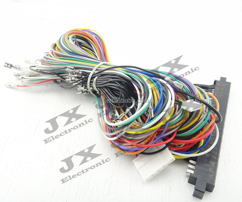 Game machine accessory Jamma wire harness