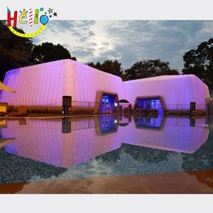 Attractive inflatable lawn tent house/house structure