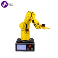 6 Educational Picking Up Two Axis 6-axis Mini Arduino Robot Arm